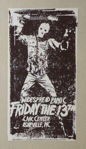 2007 Widespread Panic - Asheville Silkscreen Handbill signed by JT Lucchesi