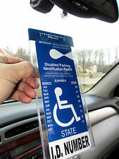 Handicap Tag Holder & Placard Protector - Magnetically Attach & Detach your Tag