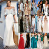 Women's Formal Prom Evening Cocktail Party Bridesmaid Wedding Gown Maxi Dresses