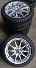 4 MERCEDES-BENZ ruedas de verano CLASE B W246A W176 CLA x117 225/45 R17 91v