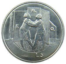 (D24) - San Marino - 5 Lire 1976 - FAO Umarmung - UNC - KM# 53
