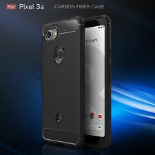 Google Pixel 3a Handy Hülle Case Schale schwarz dünn 2.Haut Armour Case Neu