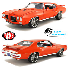 ACME 1:18 - 1970 Pontiac GTO Street Fighter The Prosecutor - Carousel Red