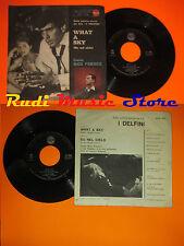 LP 45 7''NICO FIDENCO What a sky Su nel cielo  italy RCA O.S.T.DELFINI cd mc dvd