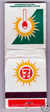 Vintage Matchbook Cover for 7 Eleven Convenience Stores Generic 20 Matches