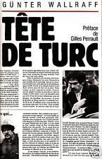Livre tête de turc  Günter Wallraff book