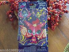 Littlest Pet Shop Magnetic Sticker Play Set NEW HTF