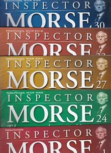Various Issues of INSPECTOR MORSE The Complete Collection Magazine 2003
