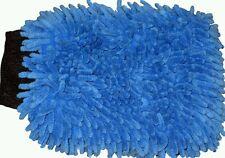 Brand New Professional Chenille Microfiber Wash,Polish,Dust Mitt, Detailing Blue