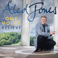 ALED JONES 'ONE VOICE : BELIEVE' CD 2017