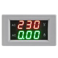 Voltimetro Amperimetro Digital + Transformador Corriente CA +Miel Voltaje y X9W6
