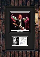 More details for (#260)  kurt cobain nirvana signed a4 photo/framed/unframed (pp) great gift @@@@