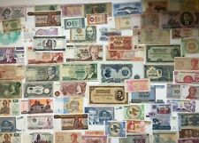 More details for 65 world banknotes some uncirculated, asia, europe, s america etc **[18938]