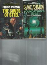 ISAAC ASIMOV - THE CAVES OF STEEL - A LOT OF 2 BOOKS