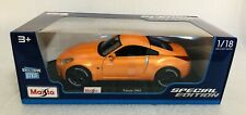 Maisto 1:18 Scale Diecast Model Car - Nissan 350Z (Orange)