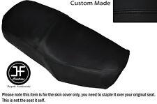 Vinilo negro automotriz Personalizado Se Ajusta Suzuki Gn 125 94-01 Dual Cubierta de asiento solamente