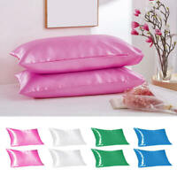 2Pcs Multi-Colors Pillow Case Bed Cushion Covers Bedding Home Decor ZIW