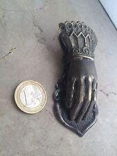 Clip-mail HAND PINCE à COURRIER FORME MAIN 1900 Romantic Laiton Ht 10cm