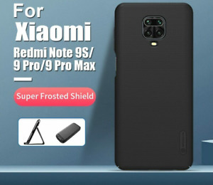 Phone Case For Xiaomi Redmi Note 9s Frosted PC Matte Hard Back Cover 6.69''