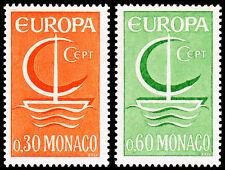 Monaco Scott 639-640 (1966) Mint LH VF