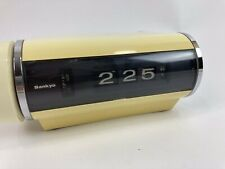 New ListingVintage Sankyo Digital Alarm Rolling Digit Clock Model 401 Mcm Rare Cream