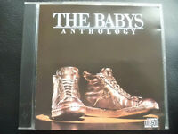THE  BABYS   -   ANTHOLOGY  ,   CD  1985  ,  ROCK ,  POP