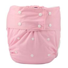 1 Adult Cloth Diaper Nappy Teen Reusable Washable Incontinence Pink For Girls
