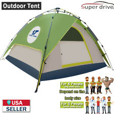 4-5 People Waterproof Automatic Instant Pop Up Outdoor Tent Camping Hiking Tent