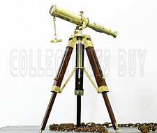 Brass Telescope Vintage Mini Table Maritime Collection Vintage Shiny Brass Gift
