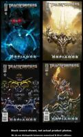 Transformers: Defiance 1 2 3 4 IDW 2008 Complete Set Run Lot 1-4 VF/NM