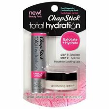 ChapStick Total Hydration Conditioning Lip Scrub & Vanilla Creme 1 per Pk