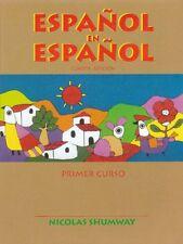 Espaol en espaol by Nicolas Shumway