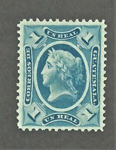 Guatemala - Scott 9 - Unused