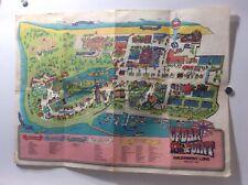 Vintage Cedar Point Map Sandusky ohio 29