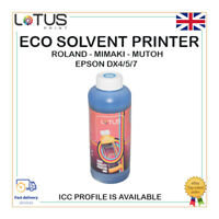 CYAN Eco Solvent Ink For Roland,Mimaki,Mutoh,Epson DX4/5/7