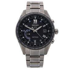 Seiko Astron GPS Solar Welt Zeit Le Quarz Titan Keramic Herren Armbanduhr sse117