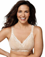 Playtex 18 Hour Perfect Lift Bra Wirefree Inner UBoost Panels Lace tru Support