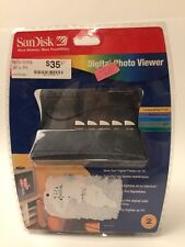 SanDisk Digital Photo Viewer SDV1-A with Remote New Factory Sealed