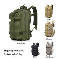 Military Tactical Backpack Daypack Bag for Hiking Camping Outdoor Sport