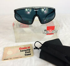 NOS Vintage Salice 1980's Sport Wrap Cycling Ski Volleyball Surf BMX Sunglasses
