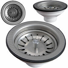 Abflusssieb Siebkorb Ablaufgarnitur Abfluss Korb küchenablauf für Küchenspühle