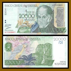 Venezuela 20000 (20,000) Bolivares, 1998 P-82 Uncirculated Unc
