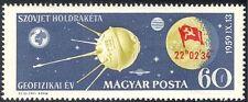 Hungría 1959 cápsula de aterrizaje satélite/Luna/espacio/ciencia/Rocket 1v O/P (n24235)