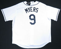 NWT Wil Myers Tampa Bay Rays Majestic Authentic MLB Baseball Sewn #9 Jersey 2XL
