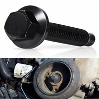 Black Crankshaft Pulley Bolt Crank Tool Screw for Ford Lincoln Mercury Vehicles