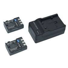 2x batteria NB-2LH BP-2L5 BP-2LH + caricabatteria per Canon PowerShot  S70 G9