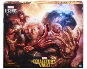SDCC EXCLUSIVE MARVEL LEGENDS THE COLLECTOR'S VAULT Avenger Box W/ Wear And Tear