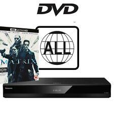 Panasonic DP-UB820 DVD MultiRegion 4K Player with The Matrix 4K UHD
