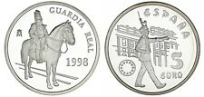 5 Silver Euro Spain / 5 Euro Silver Spain. 1998. Guard Real Proof.
