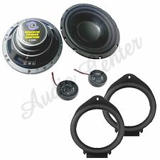 KIT A57 ALTOPARLANTI CHEVROLET CRUZE 12> ANT CASSE WOOFER 165MM 120W + TW13N